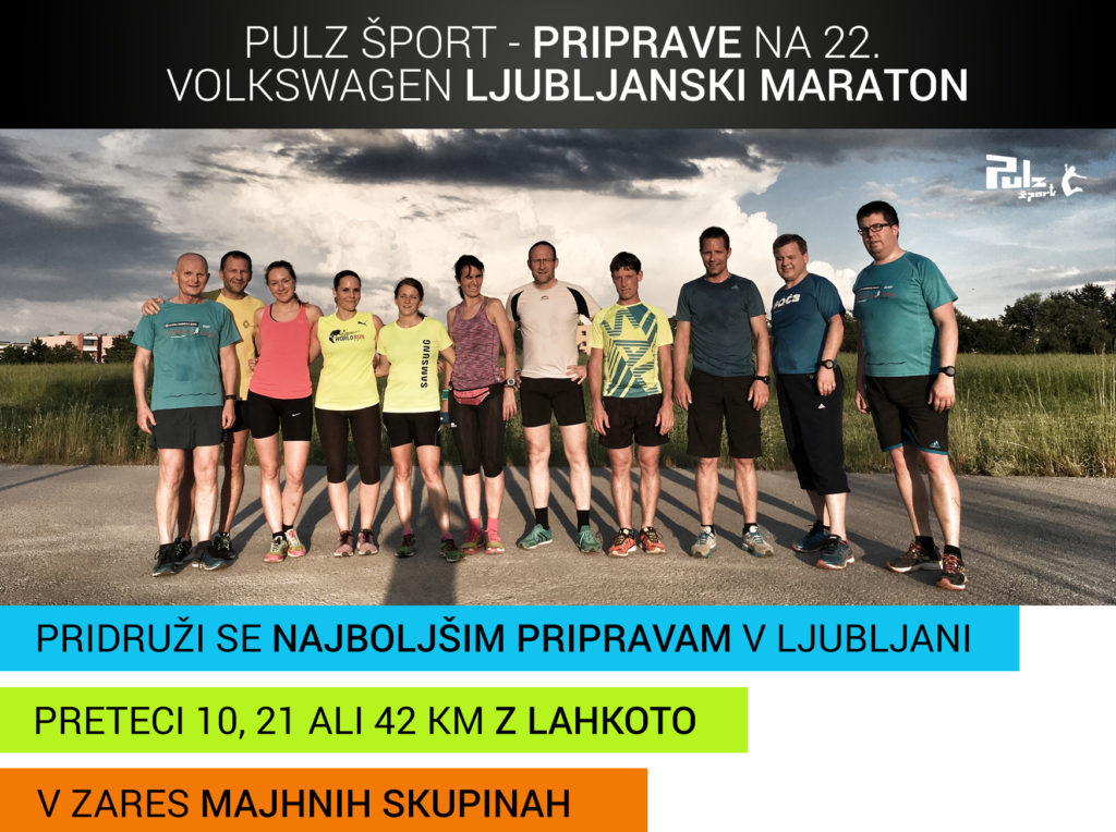 22. Ljubljanski maraton Pulz šport