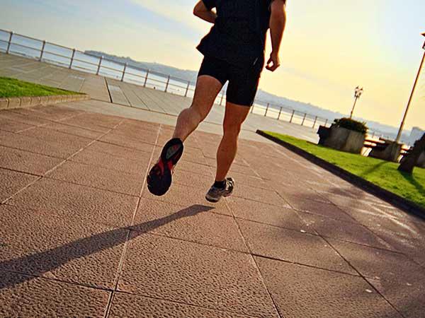 Stopnje intenzivnosti aerobnega teka